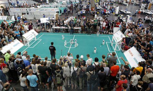RoboCup 2016 SPL Liga, Leipziger Messe